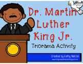 Dr. Martin Luther King Jr. Triorama Activity