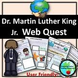 Dr. Martin Luther King Jr. WebQuest!