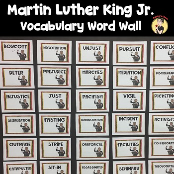 Dr. Martin Luther King Jr. Word Wall