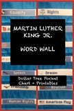 Dr. Martin Luther King, Jr. | Word Wall | FREE PREVIEW! Tot School / Preschool
