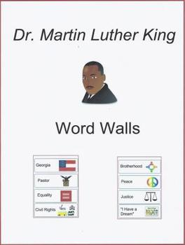 Dr. Martin Luther King Jr. Word Walls
