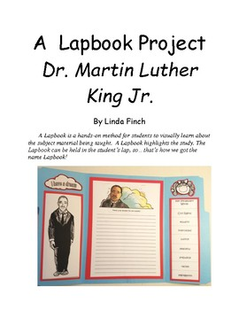 Dr. Martin Luther King Lapbook