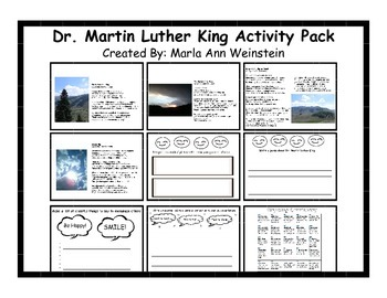 Dr. Martin Luther King Activity Pack