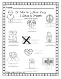 Dr. Martin Luther King-Write the Room
