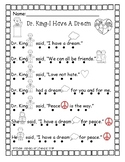 Reading with Dots-Dr. Martin Luther King
