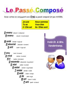 Dr & Mrs Vandertramp French Poster