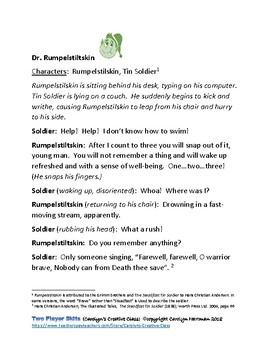 Dr. Rumpelstiltskin--A Fractured Folk Tale