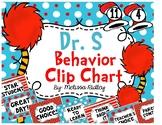 Dr. S Inspired Behavior Clip Chart