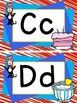 Dr. Seuss Word Wall alphabet