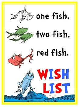 Dr.S themed Wish List Editable