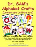Dr. SAM's Alphabet Crafts (Lowercase Letters a-z)