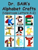 Dr SAM's Alphabet Crafts (Uppercase Letters A-Z)