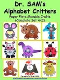 Dr. SAM's Alphabet Critters / Letter Crafts