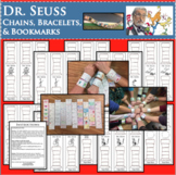 Dr. SEUSS Day Chains Bracelets Happy Birthday Research Project