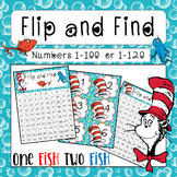 Dr Sesuss Activity Flip and Find - (Numbers 1-100 and 1-20