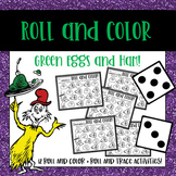 Dr. Sesuss Activity Roll and Color for one and two dice -