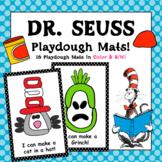 Dr Sesuss Playdough Mats - (16 Dr Seuss Playdough Mats in