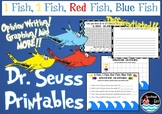 1 Fish 2 Fish Red Fish Blue Fish printables
