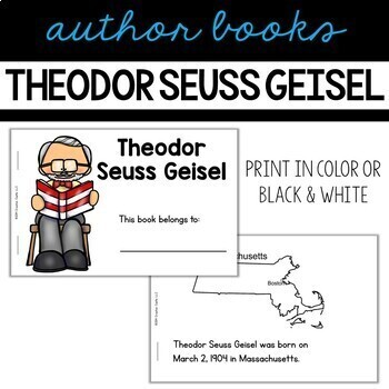 Theodor Seuss Geisel Guided Reading Book