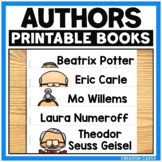 Printable Books About Children's Authors