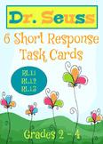 Dr. Seuss Task Cards