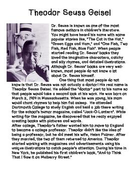 Dr. Seuss- Informative