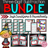 Dr. Seuss Inspired Three Digit Subtraction BUNDLE