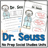 Dr. Seuss Facts, Timelines and Book Connections