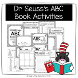 Literacy Activities for use with Dr. Seuss ABC Book