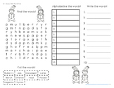 Dr. Seuss ABC Word Find FREEBIE