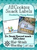 Dr. Seuss ABCookies Labels