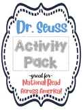 Dr. Seuss Activity Pack (Great for Read Across America!)