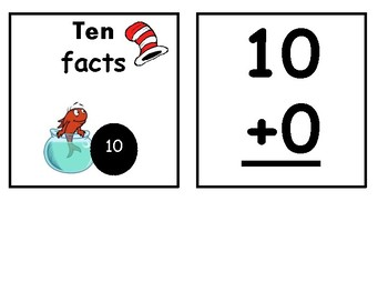 Dr.Seuss Addition Fact Families