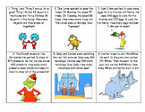 Dr. Seuss Addition and Subtraction Word Problems