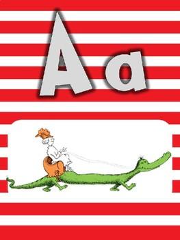 Dr. Seuss Alphabet