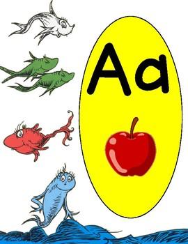 Dr. Seuss Alphabet Line 2