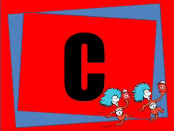 Dr.Seuss Alphabet and Numbers