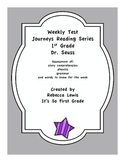 Dr. Seuss Assessment from the Journeys Reading Series