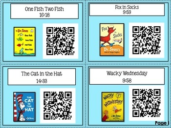Dr. Seuss Audio Books Collection with Reading Response Sheets and Activities