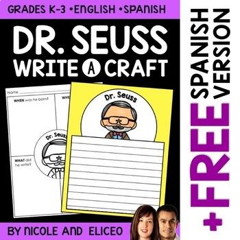 Dr. Seuss Author Study Craft
