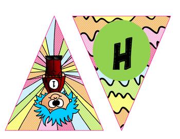 Dr. Seuss Banner