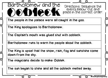 Dr. Seuss Bartholomew and the Oobleck!