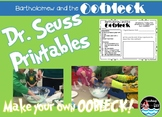 Bartholomew and the Oobleck! printables