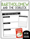 Dr. Seuss + Bartholomew and the Oobleck - Book Project + Science Experiment