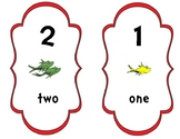 Dr. Seuss Basic Number Cards 1-10