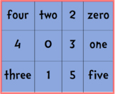 Dr. Seuss Bingo Cards 0-5