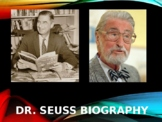 Dr. Seuss Biography PowerPoint