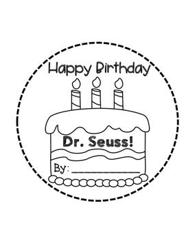 Dr. Seuss Birthday Book