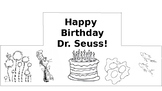 Dr. Seuss Birthday Crown