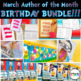 Birthday MEGA Bundle - Seuss Companion Activities Writing Literacy Math Centers